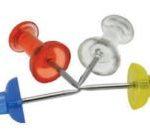 Chinchetas Plásticas (push pins)  Studmark ST-04056