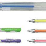 Bolígrafo Tinta Gel Fluorescente 6 unidades  Studmark ST-03118-F6