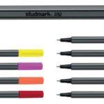 "Bolígrafos Rotuladores de colores ""Fineliner"" 0.4mm 10 unidades  Studmark ST-03153"