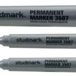 Marcador Permanente 2.0-3.0mm 12 unidades  Studmark ST-03507