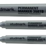 Marcador Permanente 2.5-4.0mm 12 unidades  Studmark ST-03507B