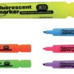 Marcador de texto Fluorecente 2.0-5.0mm 12 unidades  Studmark ST-03613