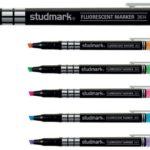 Marcador Fluorecente 1.0-4.0mm 12 unidades  Studmark ST-03614