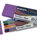 Minas de Repuesto (Colores Surtidos)  2.0mm x 90mm  Studmark ST-03711