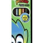 Lápices de Colores  6 piezas  Studmark ST-03413