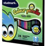 Lápices de Colores  24 piezas  Studmark ST-03414
