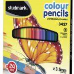 Lápices de Colores  24 piezas  Studmark ST-03427