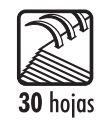 Anillas Plásticas (19 anillas – Tamaño Carta) 6mm (1/4″)  Studmark ST-07006