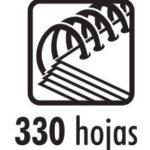 Anillas Plásticas (46 anillas – Tamaño Carta) 35mm (1-3/8″)   Studmark SP46-1 3/8