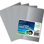 Cubiertas de PVC para Forrar Cuadernos / 110 micras / 257mm x 400mm / Studmark ST-00046-W