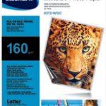 Papel Fotográfico Brillante 160g/m2  / Studmark  ST-00372-WGC