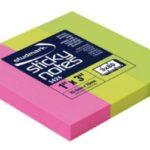 Notas Adhesivas Neón 1″x3″ (25.4x76mm)  / 3 x 80 hojas / Studmark  ST-05424