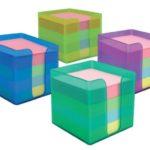 Notas Adhesivas con Dispensador plástico / 3.5″x3.5″ (89x89mm) / Studmark  ST-05440