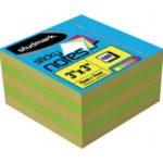 Notas Adhesivas Multicolores 3″x3″ (75x75mm)  / 400 hojas / Studmark  ST-05452