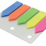Banderitas de 5 colores x 25 hojas / Studmark  ST-05425