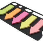 Banderitas de 5 colores x 25 hojas / Studmark  ST-05436