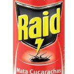 Insecticida Aerosol Raid Mata Cucarachas 400 ml / Caja 12 Unidades