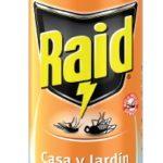Insecticida Aerosol Raid Casa y Jardín 400 ml / Caja 12 Unidades