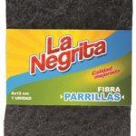 Esponja Fibra Parrillas / La Negrita / 1 unidad