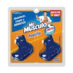 Pastilla Pato azul con Aroma 2 unidades / Mr. Musculo / 52 g