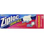 Bolsas Cierre Fácil / Ziploc / Grandes 10 unidades
