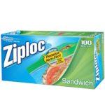 Bolsas Sandwich / Ziploc / 100 unidades