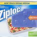 Contenedor grande rectangular / Ziploc / 2 unidades