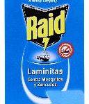 Insecticida Raid Laminitas / Repuestos 8 Unidades