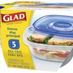 Contenedor Gladware Entree Size / Glad / 5 Unidades