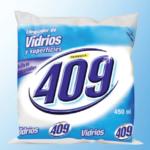 Limpiador de Vidrios y Superficies / Fórmula 409 / Bolsa 450ml