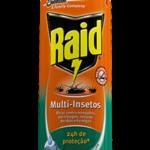 Insecticida Aerosol Raid Casa y Jardín Eucalipto 400 ml / Caja 12 Unidades