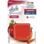 Glade Sensations Manzana-Canela / 1 Repuesto 8 g
