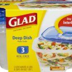 Contenedor Gladware Deep Dish / Glad / 3 Unidades
