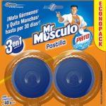 Pastilla Pato Azul / 4 pastillas / Mr. Musculo / 40 g