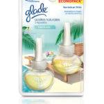 Glade Aceites naturales Paraíso Azul 2 repuestos 21 ml