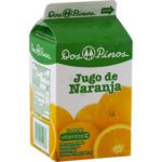 JUGO DOS PINOS DE NARANJA 1/4 LITRO 250 ML