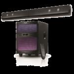 Sistema de sonido convertible de 2.1 canales – KlipeXtreme KSB-250