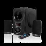 Sistema de parlantes estéreo de 2,1 – KlipeXtreme KWS-650