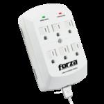 Tomacorrientes de Pared con Protección Eléctrica – Forza FWT-760USB