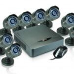 Kit CCTV de 8 Canales con 8 Cámaras analogas 720p para exterior / Nexxt Xpy 8008-Hd
