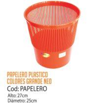 Basurero Plástico Grande Neo Cod: Papelero/CSS