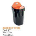 Basurero Plástico Tip Top Neo Cod: BT/CSS