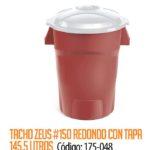 Basurero Plástico 145 Litros Cod: 175-048/CSS
